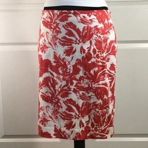 The Limited Lined Floral Skirt